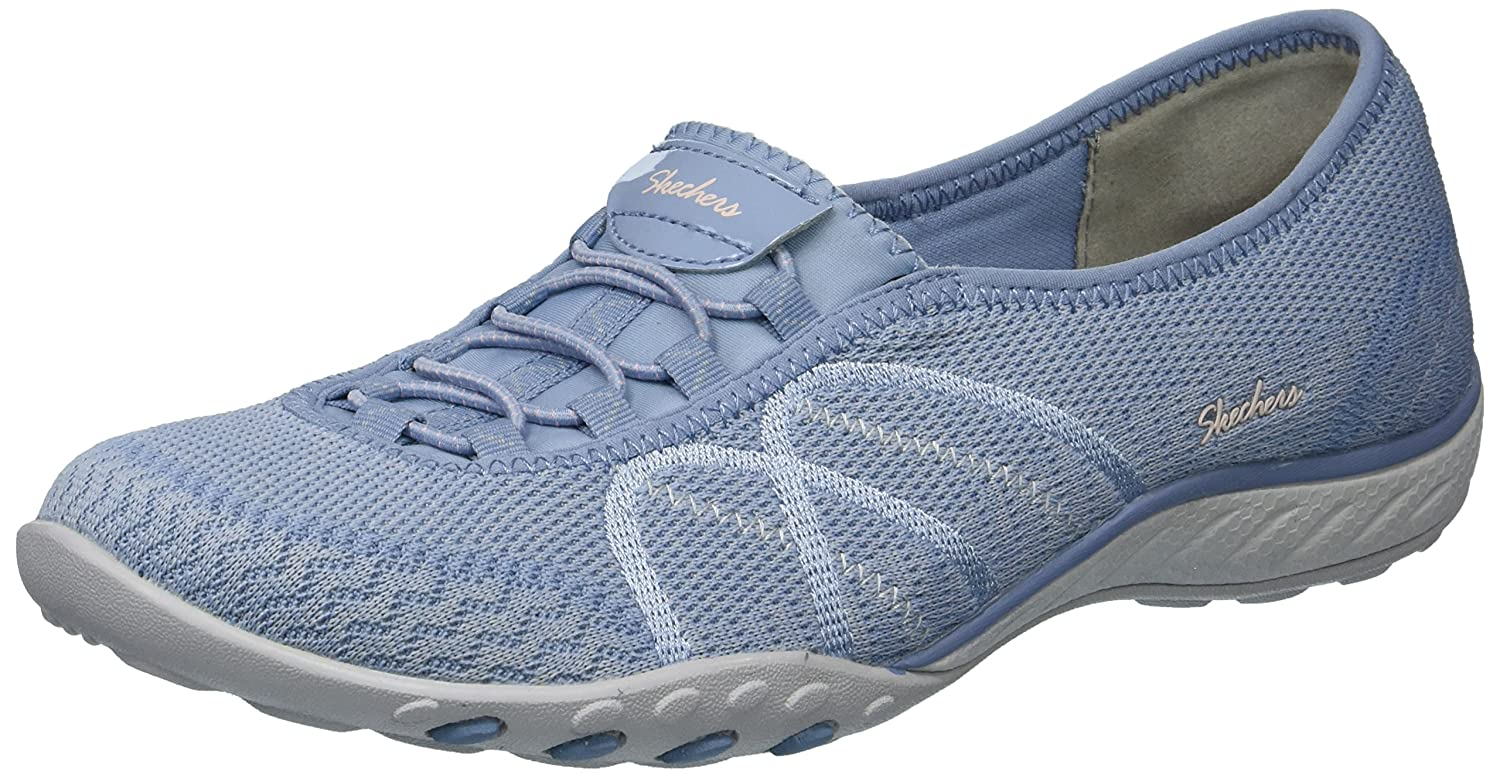 Skechers レディース BREATHE EASY SWEET JAM B01MXJLC6P 8.5 B(M) US|ブルー ブルー 8.5 B(M) US