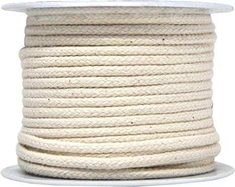 Beige Drawstring Cotton Cord Trimming 30 Yards Many Color Options!