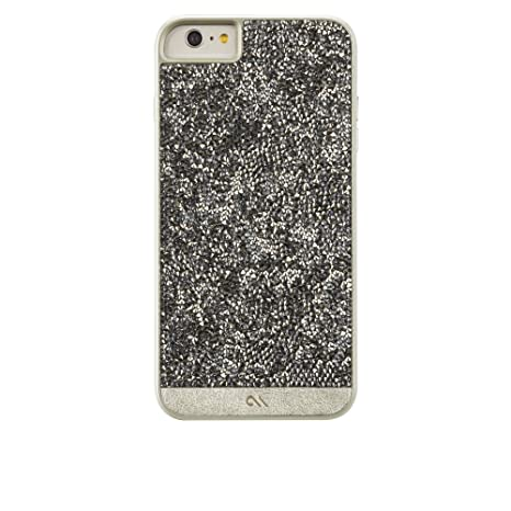 9e1e72d39 Amazon.com: Case-Mate iPhone 6 Case - BRILLIANCE - 800+ Genuine Crystals -  Apple iPhone 6 / iPhone 6s - Champagne: Cell Phones & Accessories