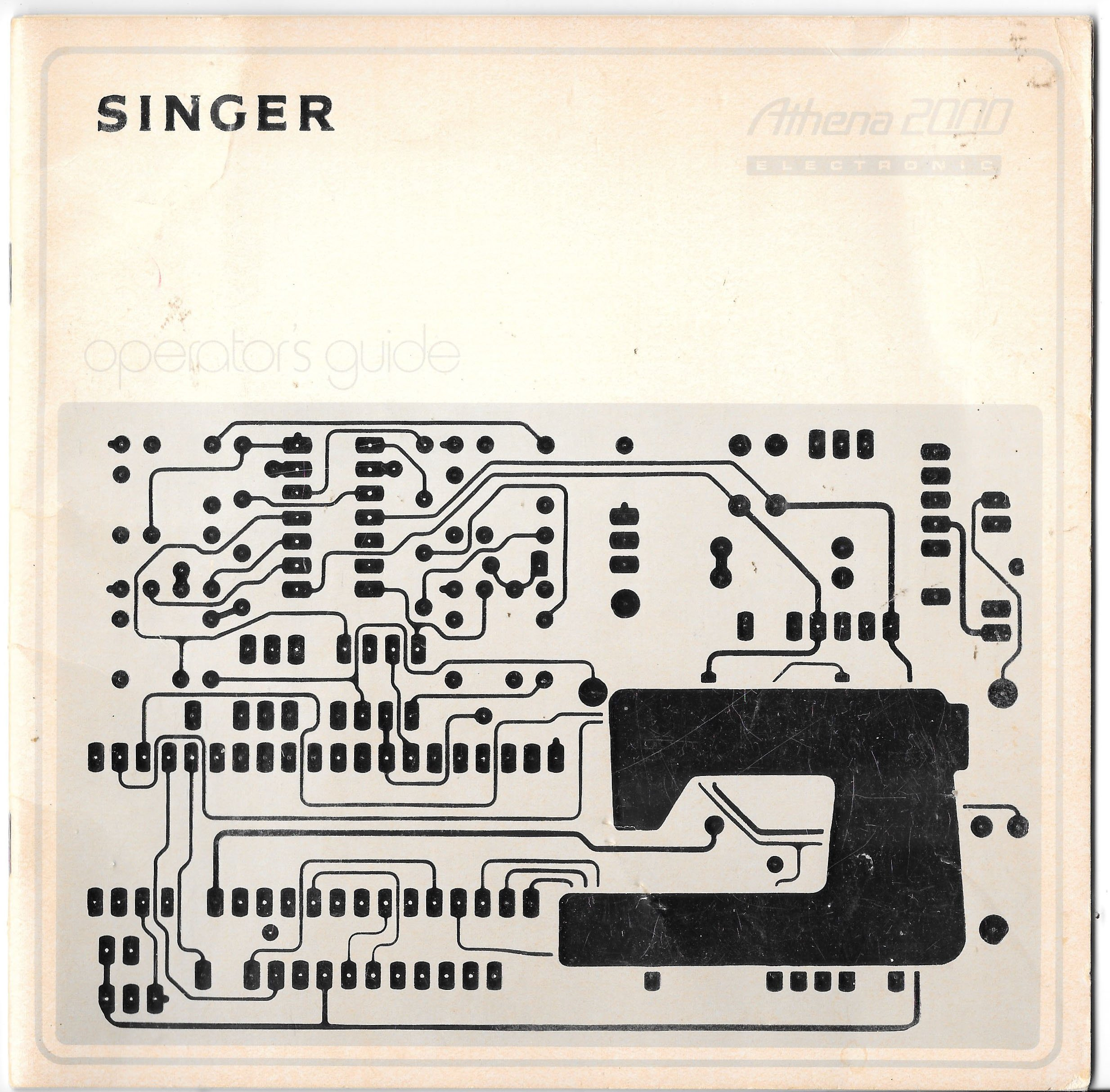 Singer Athena 2000 Electronic Operator's Guide: The Singer Company:  Amazon.com: Books