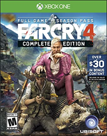 Amazon Com Far Cry 4 Complete Edition Xbox One Ubisoft Video