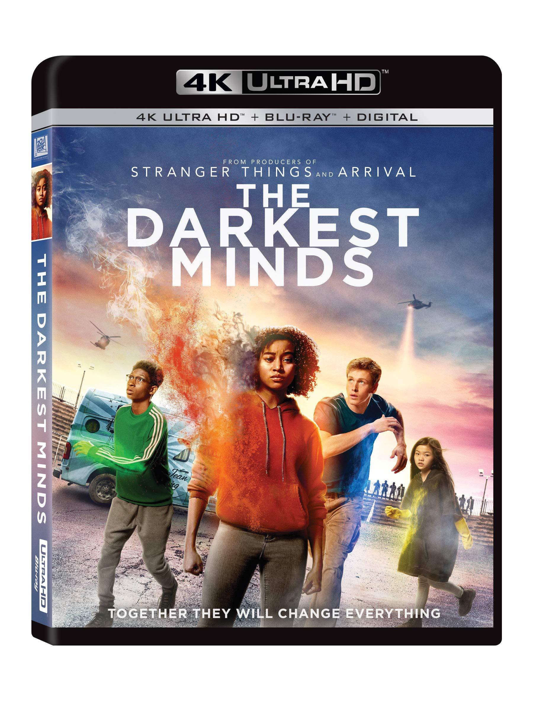 4K Blu-ray : The Darkest Minds (Digital Copy, Widescreen, Subtitled, Dolby, Digital Theater System)