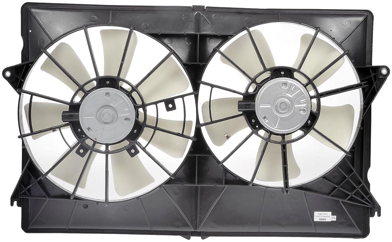 Dorman 620-031 Radiator Dual Fan Assembly