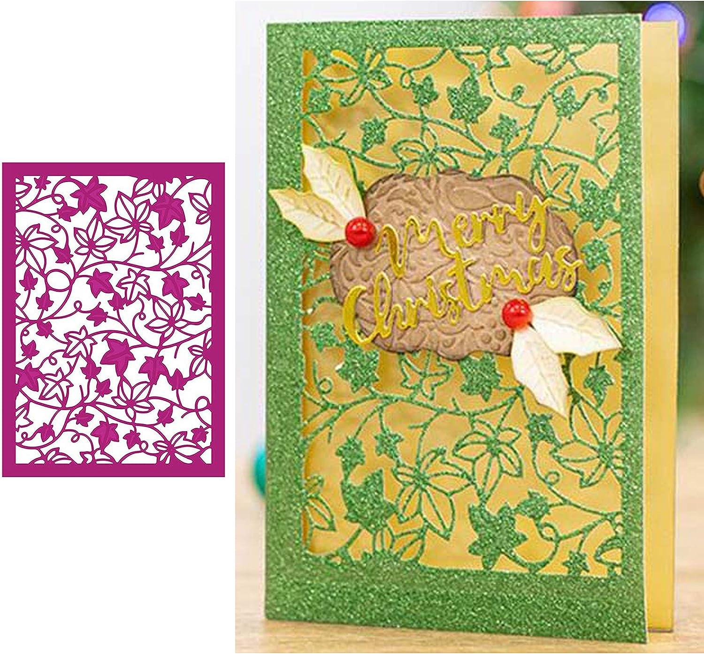 OOTSR Frame Die Cuts for Card Making Card Die Cutting Tools Cutting Die Stencil Embossing Die Cuts for DIY Paper Art Craft Scrapbooking Metal Die Cuts Photo Album Decor