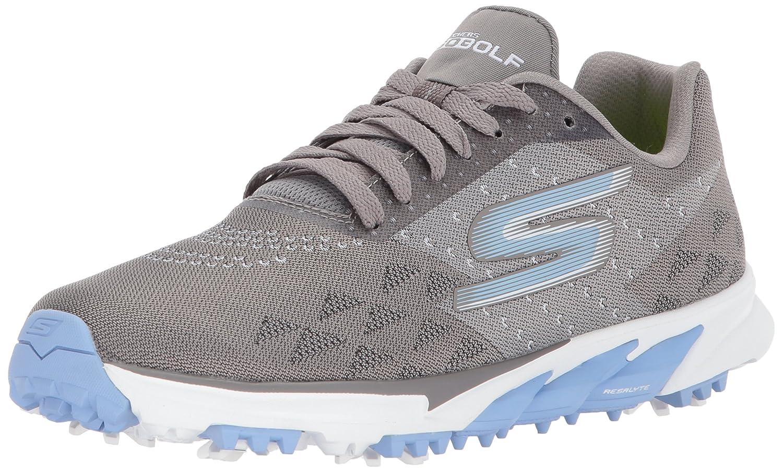 Skechers Women's Go Golf Blade 2 Walking Shoe B06XW15J6Q 5.5 M US|Charcoal/Blue