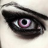 """Lentillas de color rosado para Halloween duende lentillas sin dioprtías / corregir + gratis caso de lente """"Pink Elfe"""""""