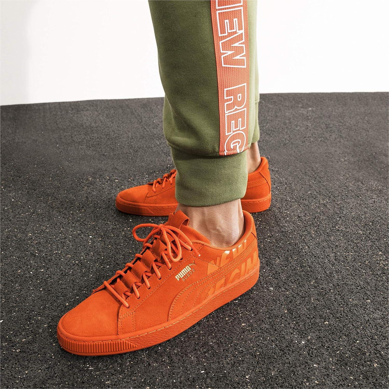 pretty nice c963d 5c64f Puma Suede Anr Homme Baskets Mode Orange: Amazon.fr ...