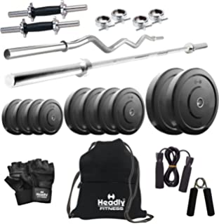Headly 40 kg combo 1 home gym: amazon.in: sports fitness & outdoors