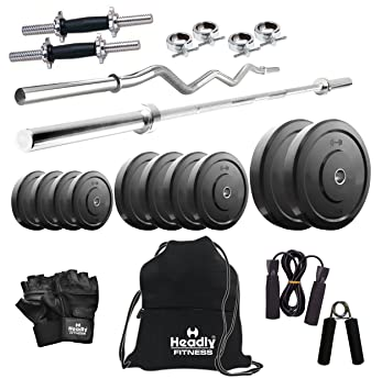 77732754916 Headly 40 Kg Combo 2 Home Gym  Amazon.in  Sports