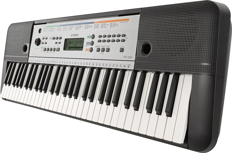 Teclado electrónico portátil Yamaha YPT-255: Amazon.es: Instrumentos musicales