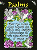 Psalms Stained Glass Coloring Book (Dover Stained Glass Coloring Book)