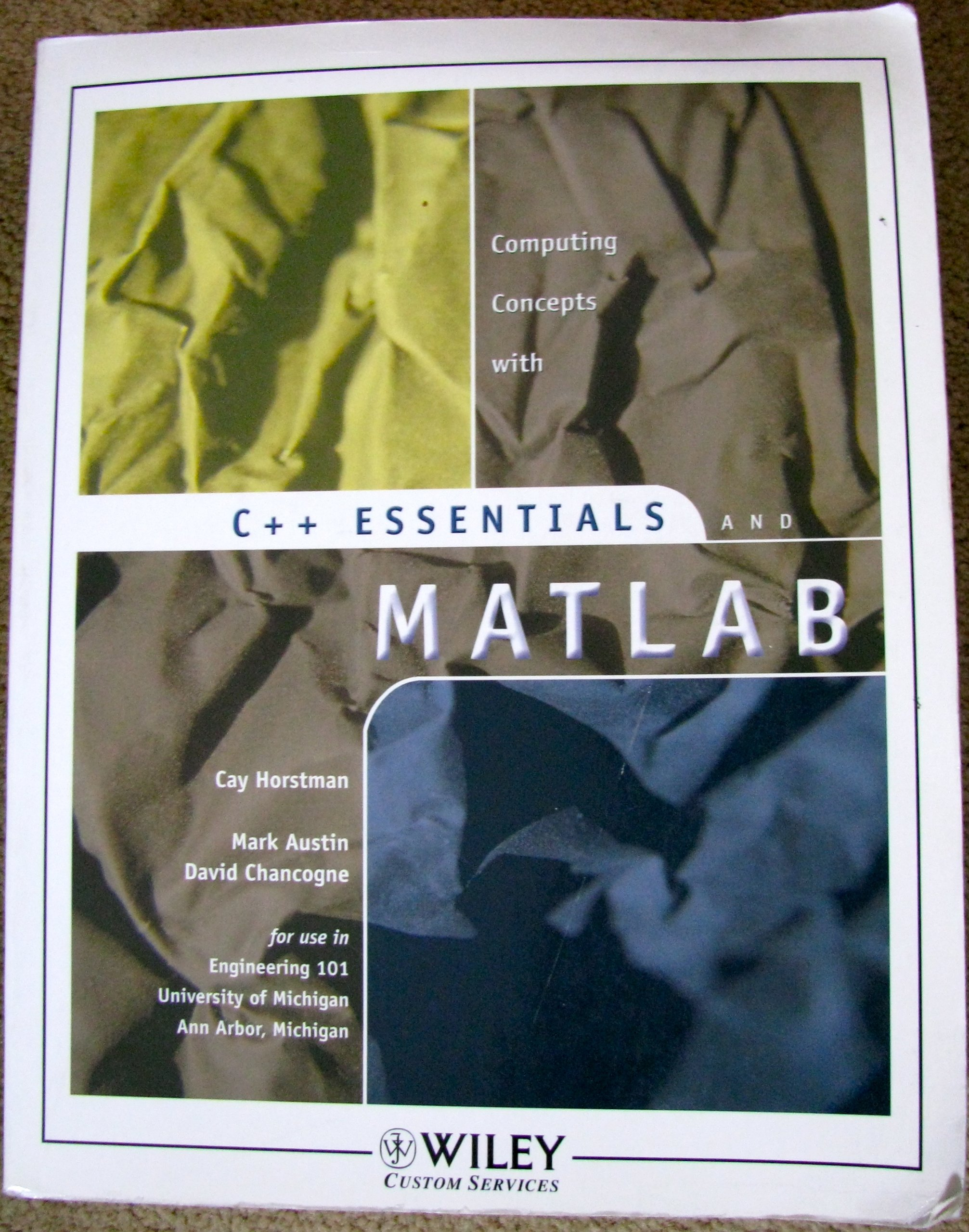 Download Computing Concepts with C++ Essentials and MATLAB pdf