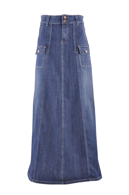 Style J atractiva en cargo Denim falda - Azul - : Amazon.es: Ropa ...