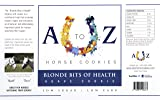 A to Z Horse Cookies Horse Cookie Treat: Blond Bits of Health Flavor by, Low Carb Low Sugar Softer Treats, Organic, Great for All Horses and Excellent for Those with Metabolic Conditions