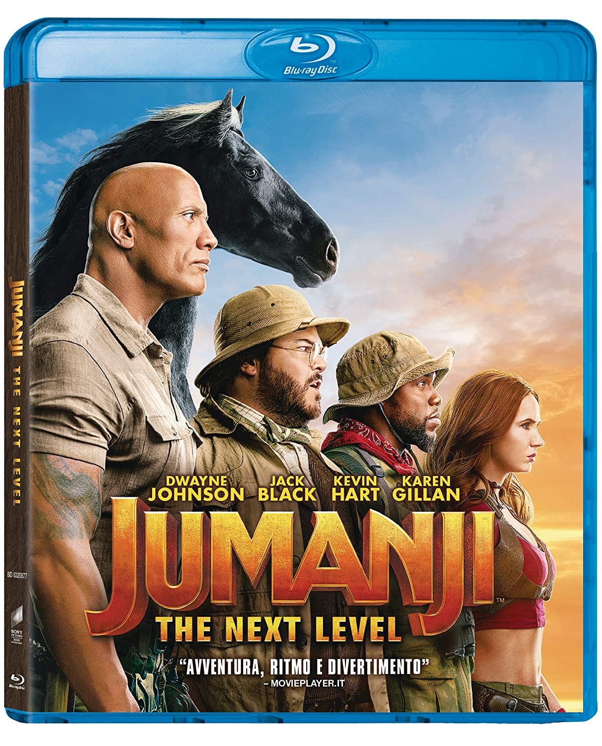 Jumanji The Next Level Dwayne Johnson Kevin Hart Jack Black Karen Gillan Awkwafina Nick Jonas Alex Wolff Morgan Turner Madison Iseman Ser Darius Blain Jake Kasdan Movies Tv