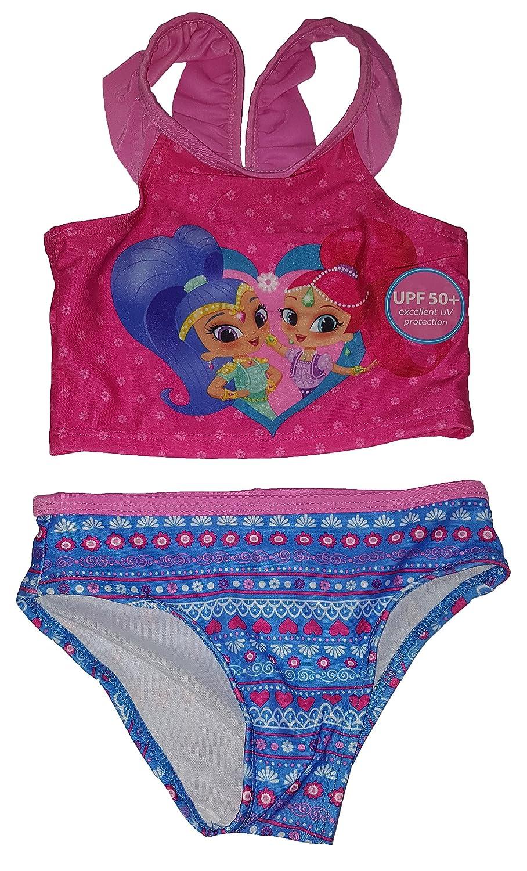 Toddler Girls Shimmer & Shine 2 Piece Swimsuit
