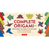 Complete Origami Kit: [Kit with 2 Origami How-to Books, 98 Papers, 30 Projects] This Easy Origami for Beginners Kit is…