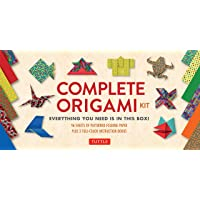 The Complete Origami Kit: Everything You Need Is in This Box! [Origami Kit with 2 Books, 96 Papers, 30 Projects]: [Kit…