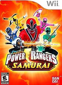 Amazon Com Power Rangers Samurai Nintendo Wii Namco Bandai Games