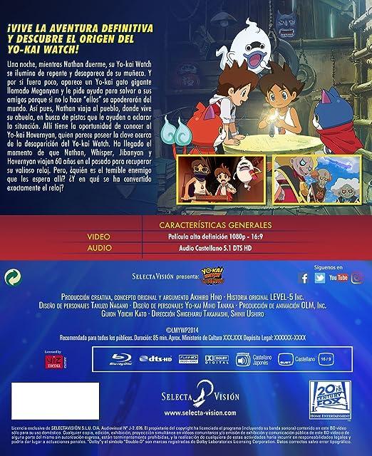 Amazon.com: Yôkai Watch: Tanjô no himitsuda nyan (YO-KAI WATCH LA PELÍCULA, Importé dEspagne, langues sur les détails): Movies & TV