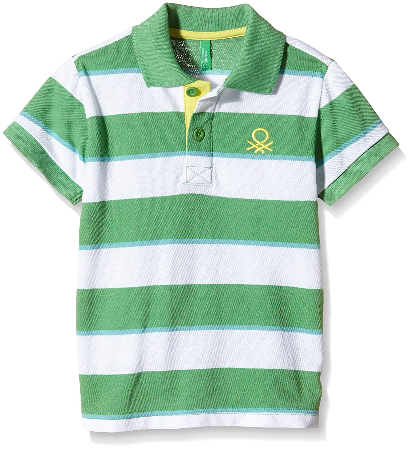 United Colors of Benetton 3ABTC3039, Polo para Niñas, Blanco ...