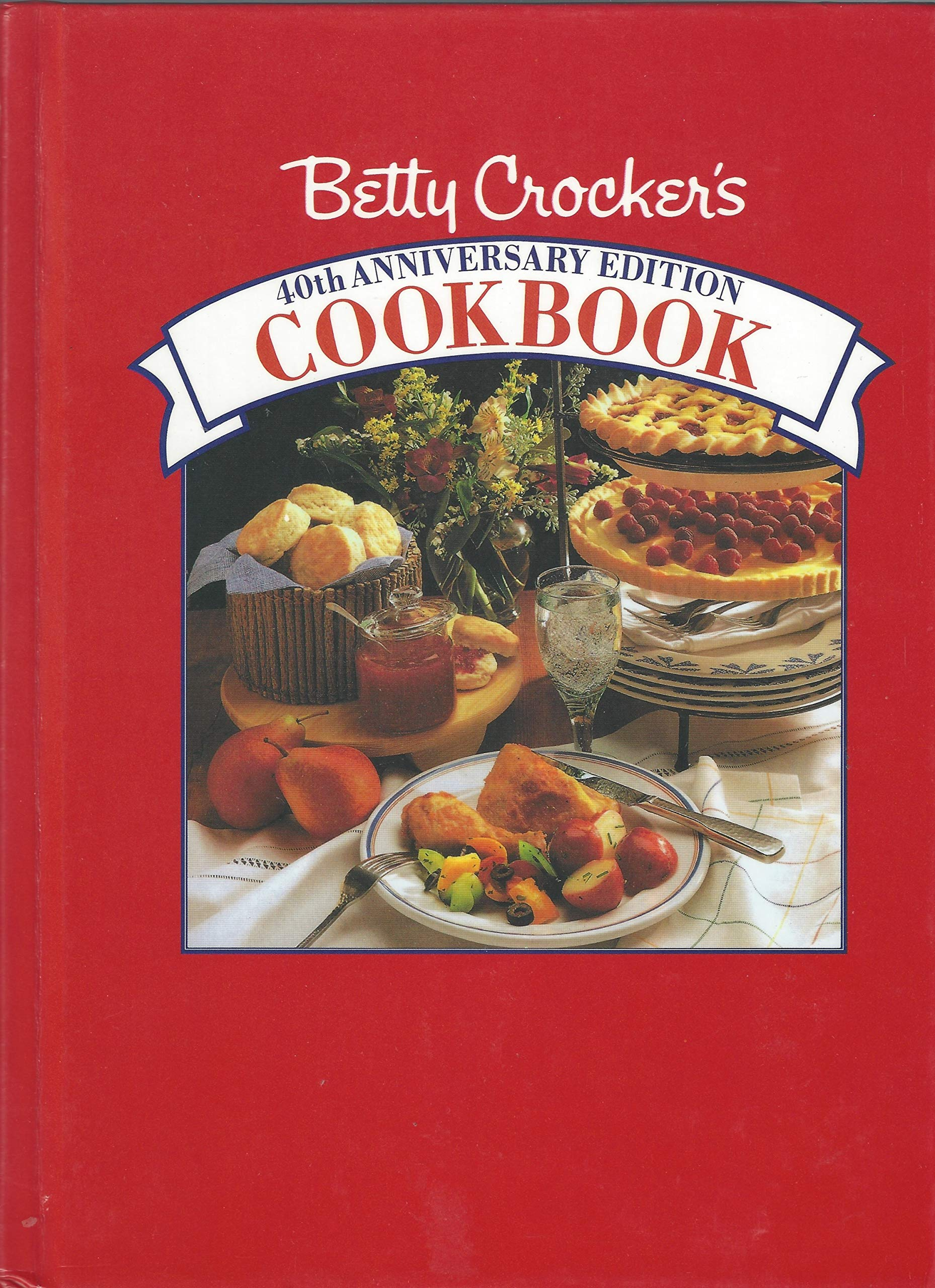 Betty Crocker's Cookbook/40th Anniversary Edition: Betty Crocker:  9780130737687: Amazon.com: Books
