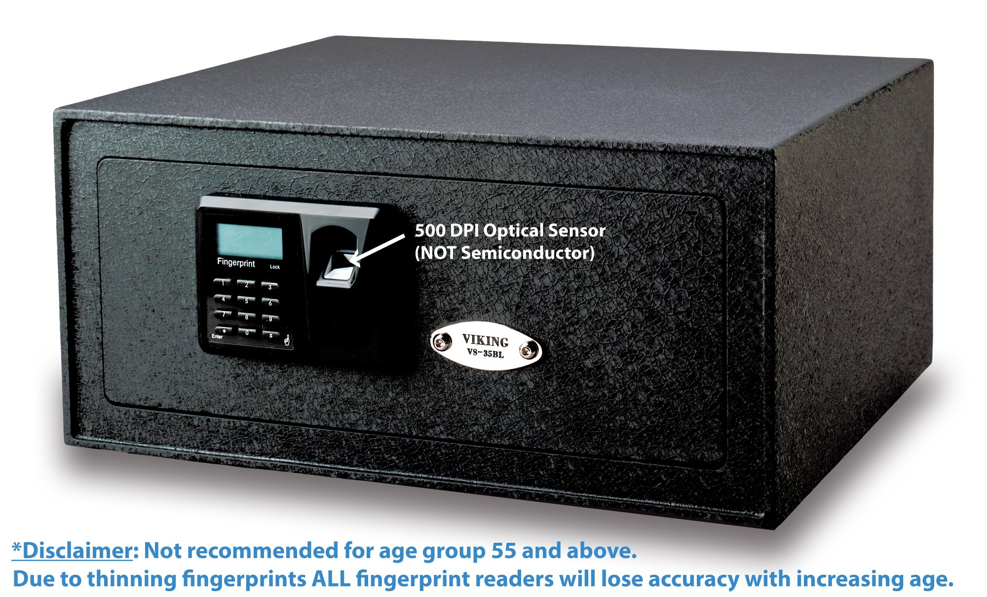 Viking Security Safe VS-35BLX Biometric Safe Fingerprint Safe by Viking Security Safe