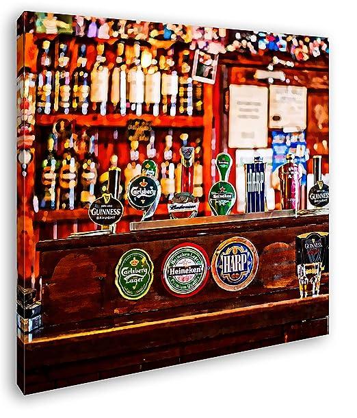 deyoli mostrador en un Bar Efecto: Irlandés Dibujo como ...