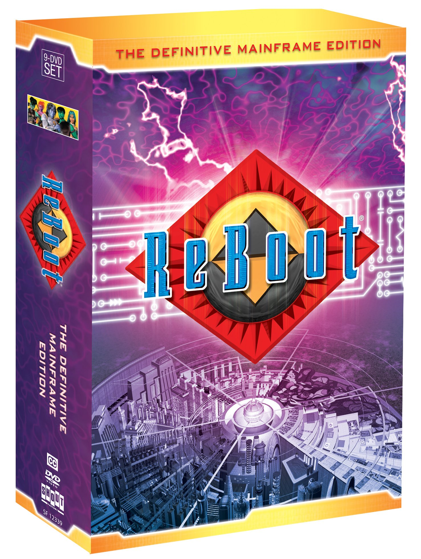 ReBoot: The Definitive Mainframe Edition by Shout! Factory