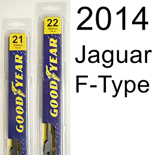 "product image for Jaguar F-Type (2014) Wiper Blade Kit - Set Includes 22"" (Driver Side), 21"" (Passenger Side) (2 Blades Total)"