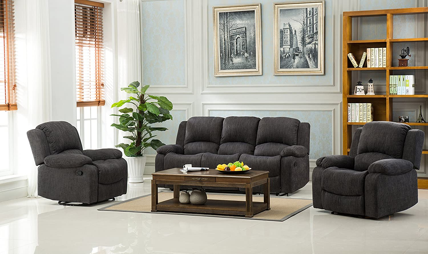 Lovesofas Lazy Boy Valencia 3 2 1 plazas sillón reclinable y ...