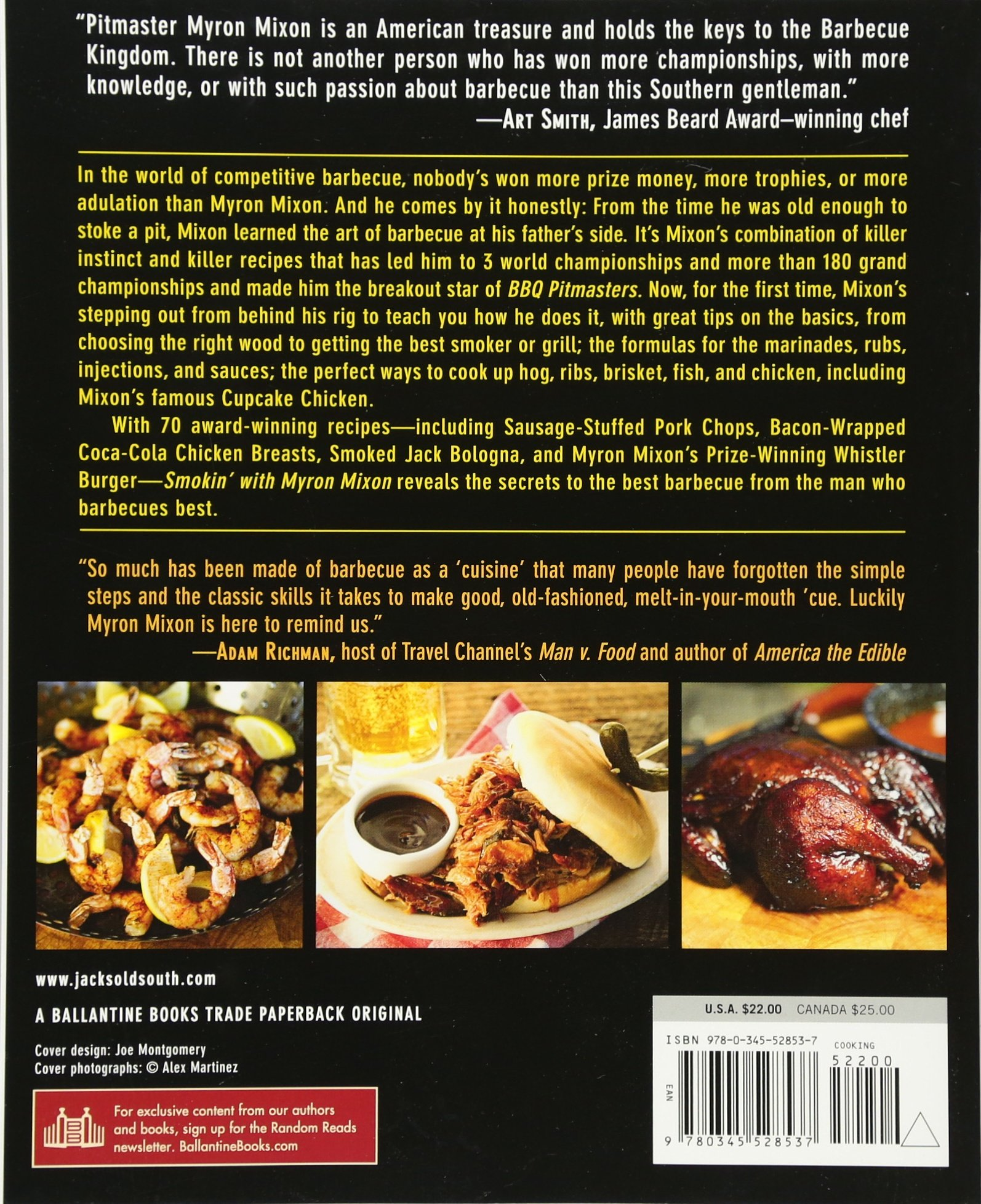 Smokin' With Myron Mixon: Recipes Made Simple, From The Winningest Man In  Barbecue: Myron Mixon, Kelly Alexander: 8601405010810: Amazon: Books