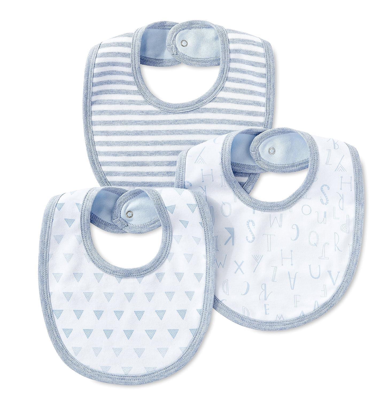 Lamaze unisex-baby Organic Essentials 3 Piece Bib Set Bib