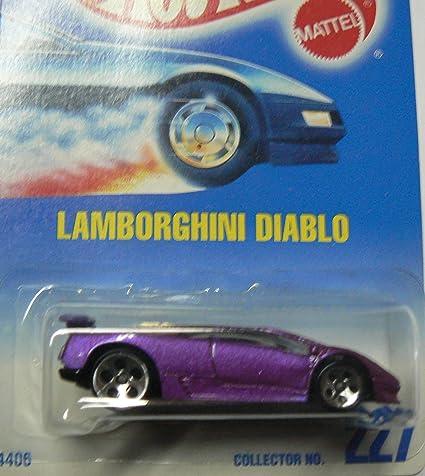 Buy Hot Wheels Purple Lamborghini Diablo 227 5 Dot Wheels Online At