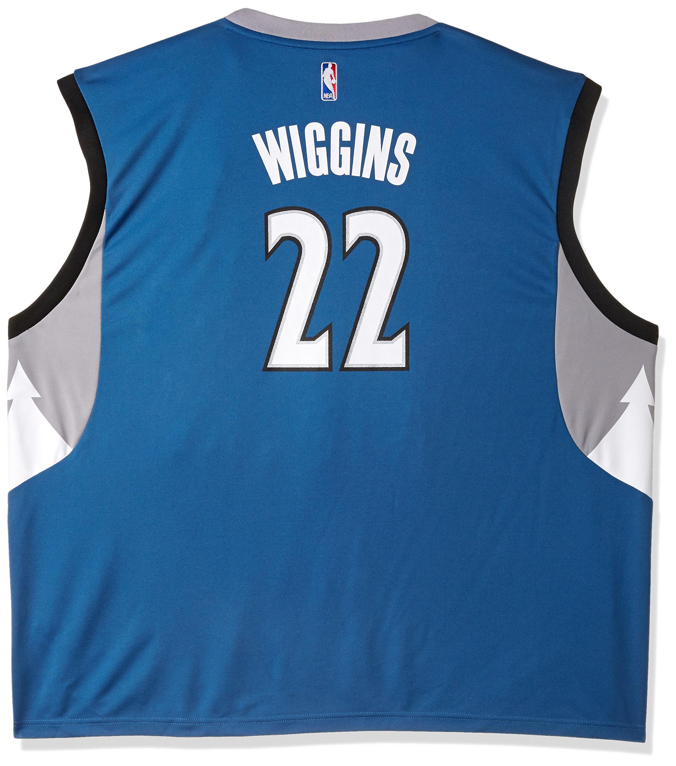 Galleon - NBA Men s Minnesota Timberwolves Andrew Wiggins Replica Player  Road Jersey b66f539bb