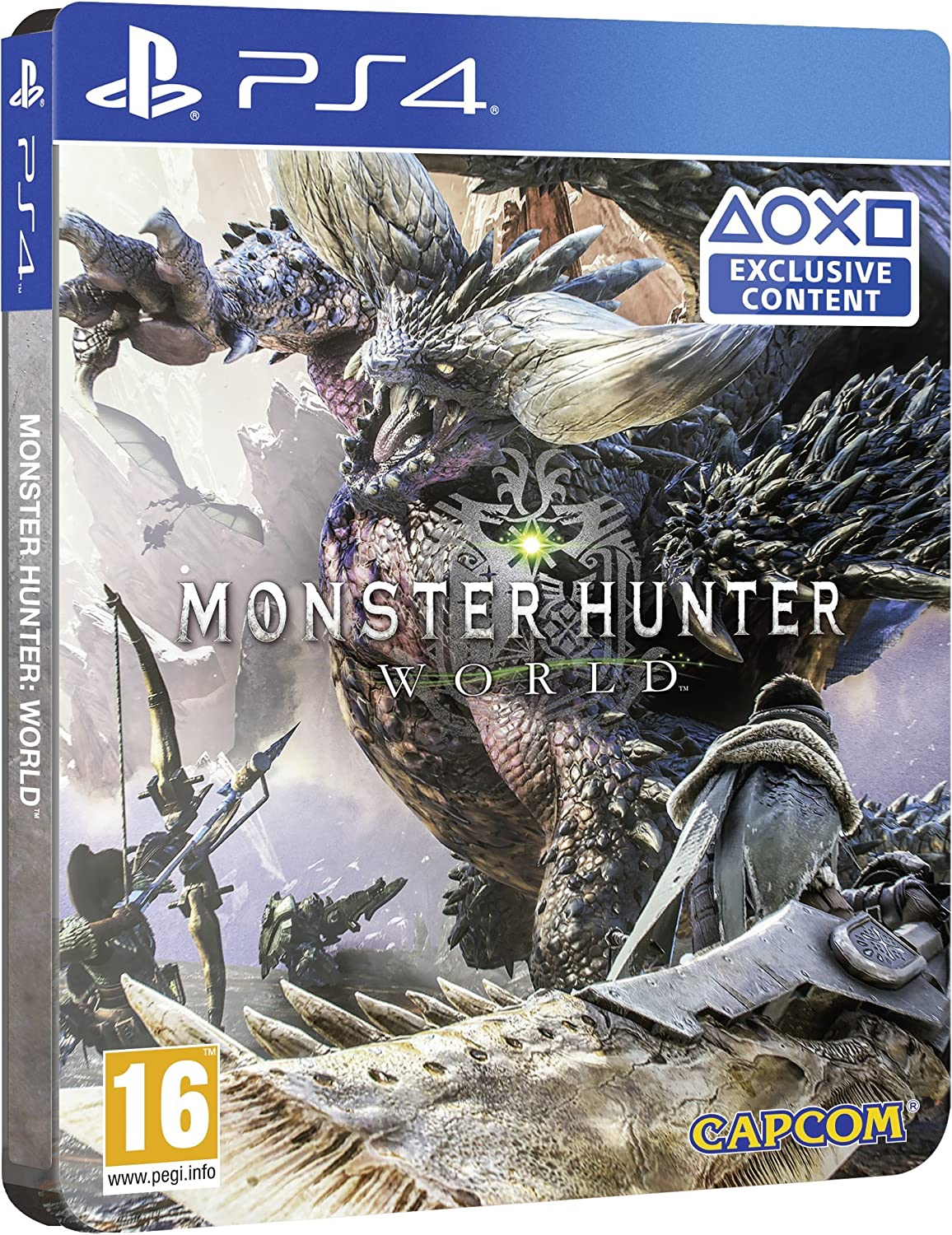 PS4 Monster Hunter: World - SteelBook Edition - PREOWNED: Amazon ...