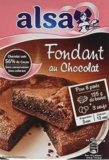 Alsa Prêt à Cuire Préparation Gâteau Moelleux Chocolat 24 Parts