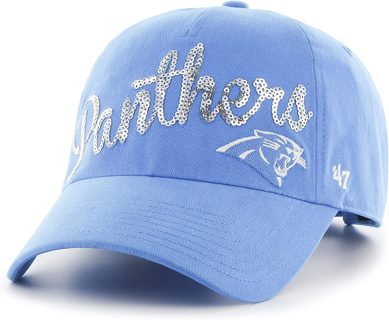 NFL Womens Sparkle Two Tone Clean Up Adjustable Hat