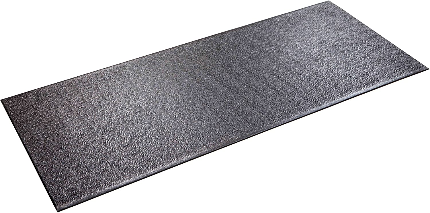 "SuperMats Heavy Duty Equipment Mat 30GS Made in U.S.A. for Treadmills Ellipticals Rowing Machines Recumbent Bikes and Exercise Equipment (2.5-Feet x 6-Feet) (30"" x 72"") (76.20 cm x 182.88 cm)"