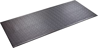 "product image for SuperMats Heavy Duty Equipment Mat 30GS Made in U.S.A. for Treadmills Ellipticals Rowing Machines Recumbent Bikes and Exercise Equipment (2.5-Feet x 6-Feet) (30"" x 72"") (76.20 cm x 182.88 cm)"