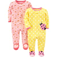 5ca3de600 Amazon Best Sellers  Best Baby Girls  Blanket Sleepers