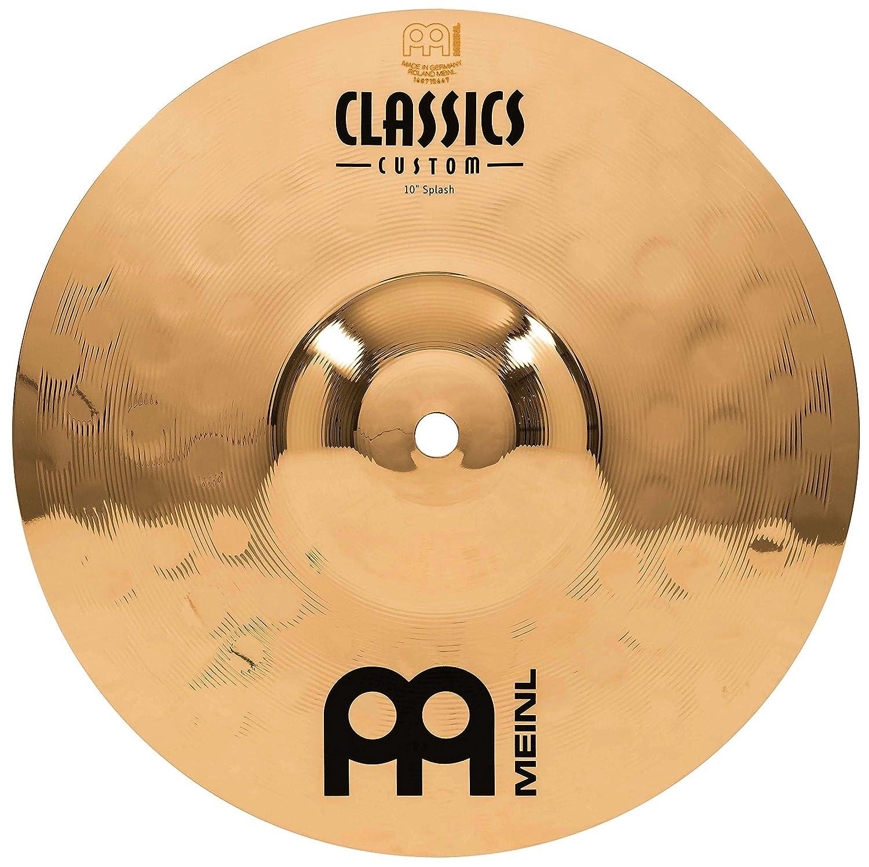 Meinl Cymbals CC10S-B Classics Custom 10-Inch Brilliant Splash (VIDEO) Meinl USA L.C.
