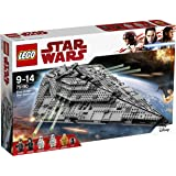 LEGO Star Wars First Order Star Destroyer 75190 Playset Toy