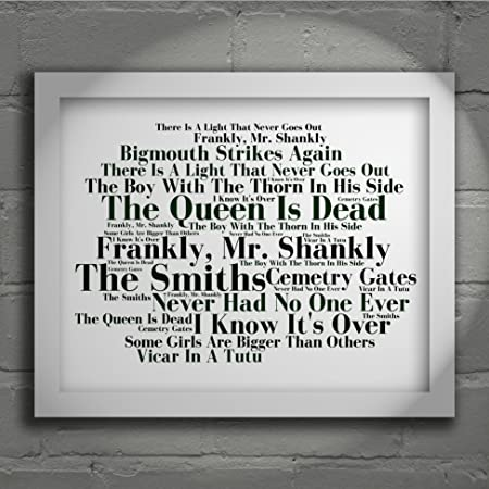 The Smiths - The Queen is Dead - Signed u0026 Numbered Limited Edition Typography Unframed 10x8  sc 1 st  Amazon UK & The Smiths - The Queen is Dead - Signed u0026 Numbered Limited Edition ...