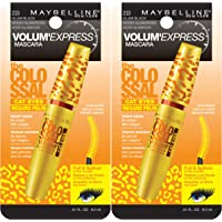 2-Pack Maybelline New York Volum' Express The Colossal Cat Eyes Washable Mascara Makeup
