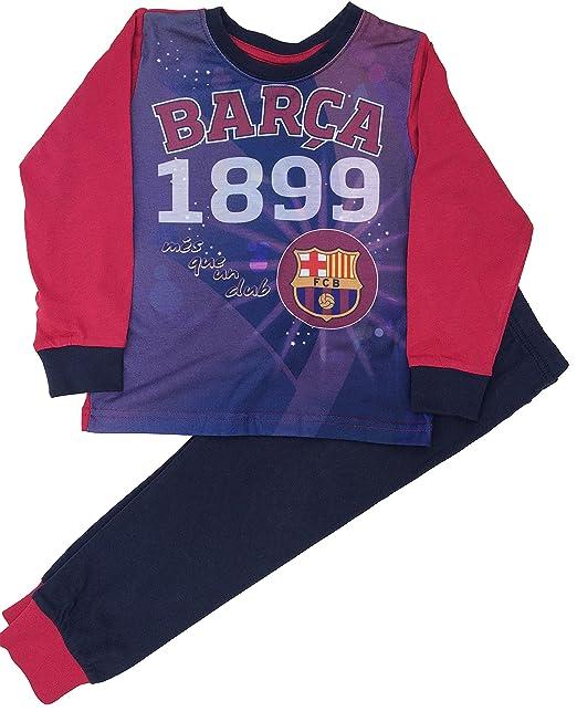 Barcelona F.C. - Pijama dos piezas - para niño azul azul