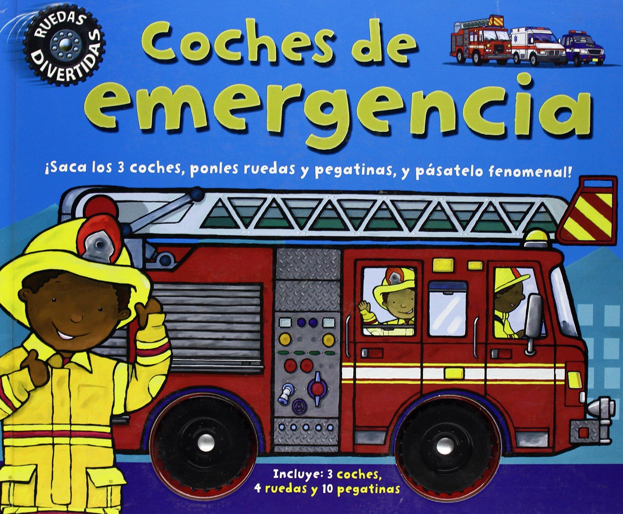 Coches de emergencia (Spanish) Hardcover