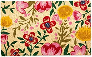 DII CAMZ11126 Seasonal Doormats, 18x30, Bright Blossom