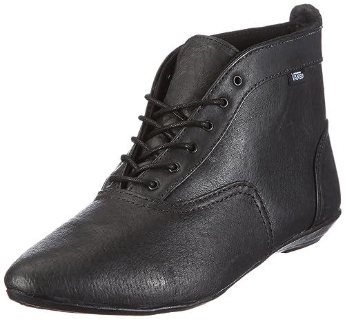 Vans W Sophie Boot (Leather) Black VNLNL3A - Botas de Cuero para Mujer d6222dd8334