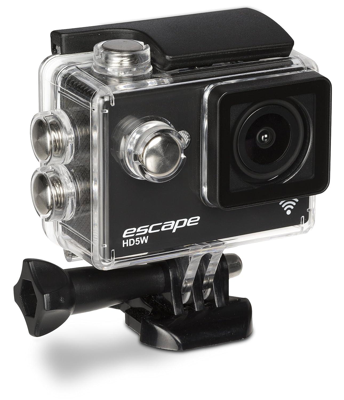 Kitvision キットビジョン Escape 防水アクションカメラ HD5W 1080p Wi-Fi & マウント付き ブラック KVESCAPE5W B00RQ50C3M